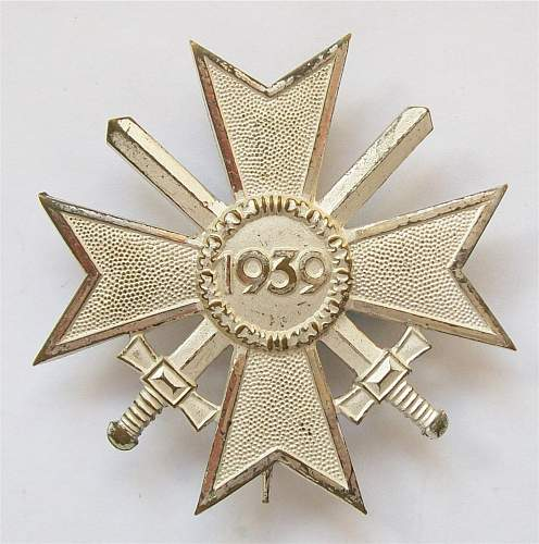 KVK with swords 1st class 1957