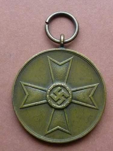 Kriegsverdienst-Medaille 1939 - authenticity