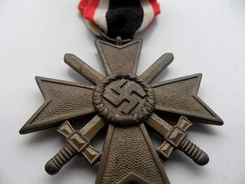 Kriegsverdienstkreuz II Klasse mit schwertern