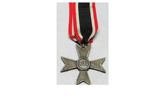 Need help: fake or original kriegsverdienstkreuz 2.Klasse ohne Schwerten.