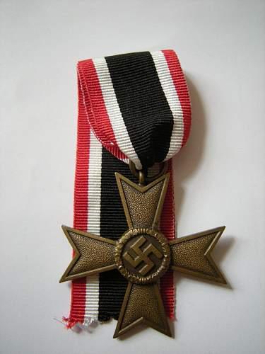 Replacement ribbon for Kriegsverdienstkreuz