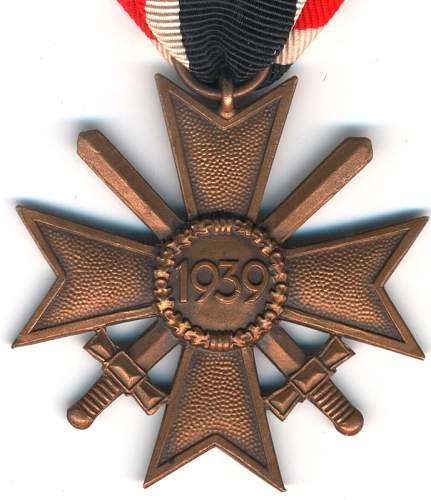 kriegsverdienstkreuz 2.klasse mit schwertern 68