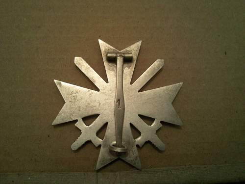 KvK 1 w swords marked 1