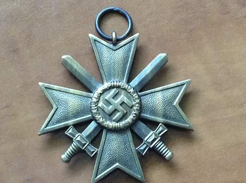 kriegsverdienstkreuz 2.klasse ID 10?