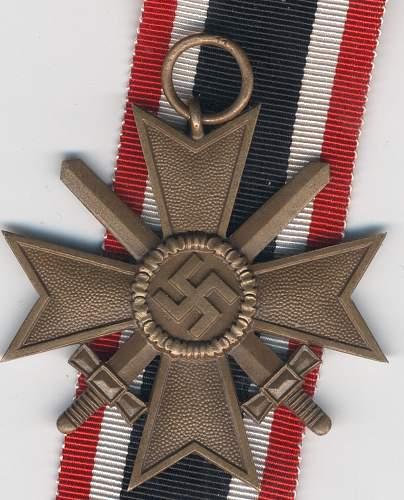 kriegsverdienstkreuz 2.klasse mit schwertern 11