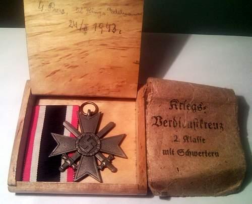 Kriegsverdienstkreuz 2 Klasse