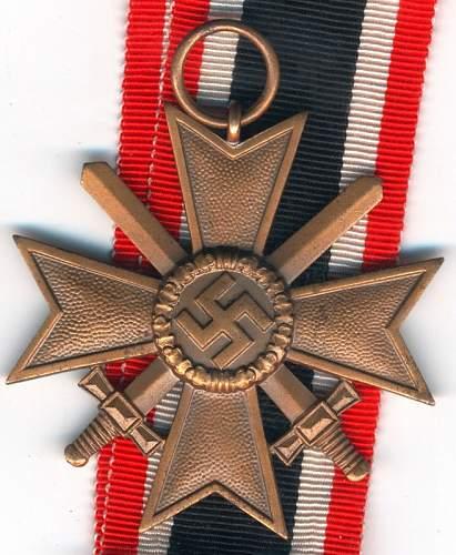 Kriegsverdienstkreuz 2.Klasse mit Schwertern 10