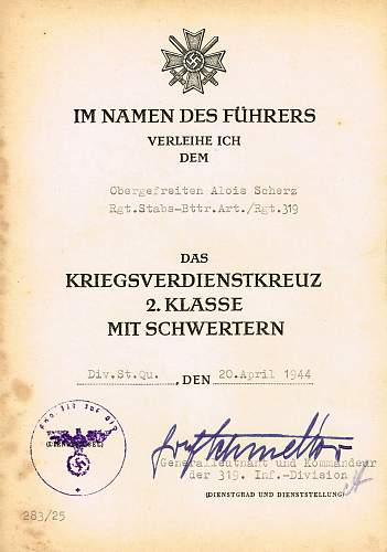 Click image for larger version.  Name:KVK CITATION SIGNED BY GRAF VON SCHMETTOW..jpg Views:124 Size:297.7 KB ID:549521