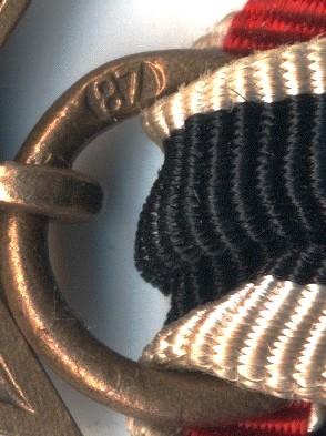 Kriegsverdienstkreuz 2.Klasse mit Schwertern 87