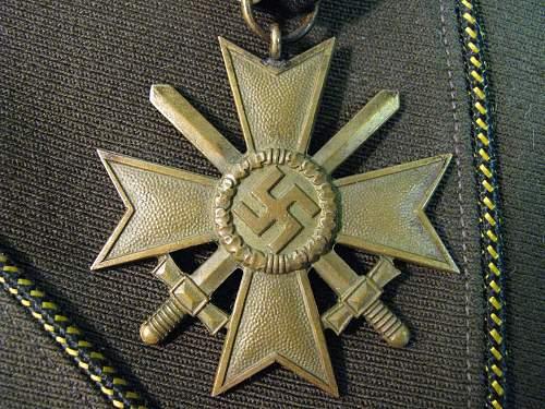 Kriegsverdienstkreuz 2.Klasse mit Schwertern (31?)