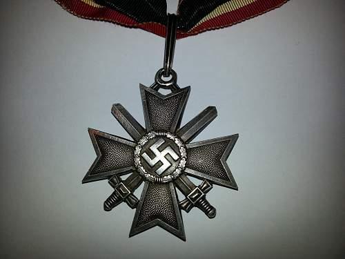 Ritterkreuz des Kriegsverdienstkreuzes mit Schwertern