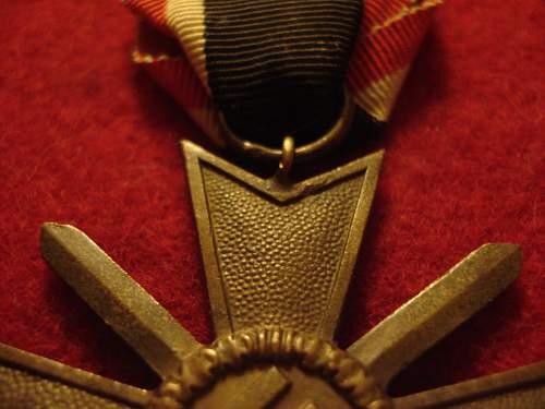 KVK with swords. Original or repro?