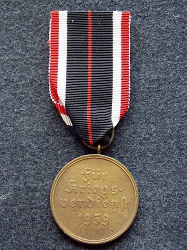 First Kriegsverdienstmedaille