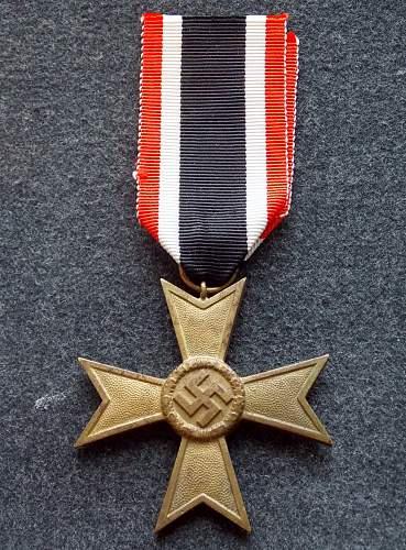 Kriegsverdienstkreuz 2.Klasse ohne Schwerter