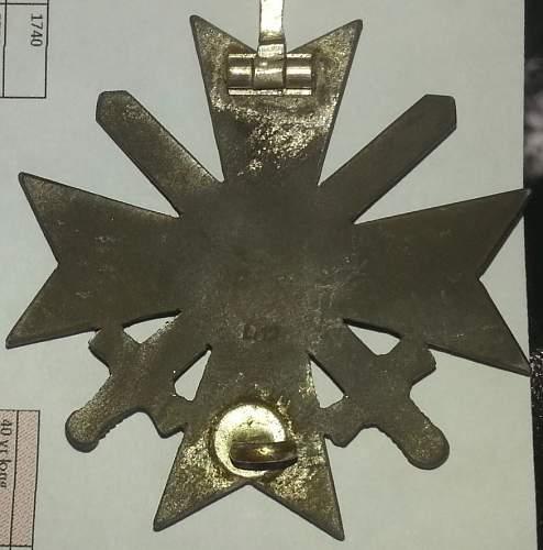 Kriegsverdienstkreuz 1.Klasse  Maker L/12