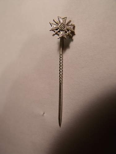 KVK mit Schwerter stick pin