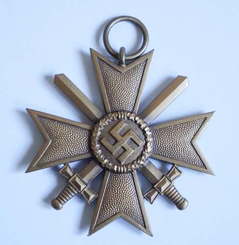 Kriegsverdienstkreuz 2. klasse mit schwertern 95