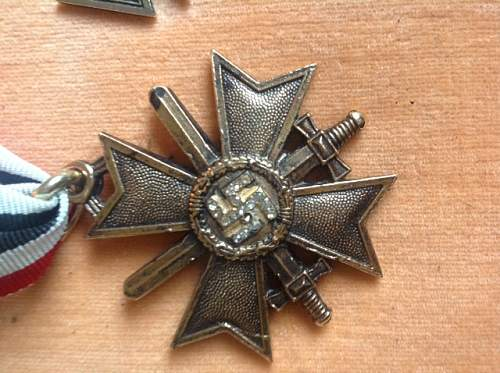 Click image for larger version.  Name:NAzi medallion.JPG Views:180 Size:154.6 KB ID:703462