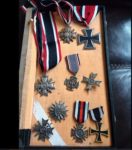 Nazi medals opportunity