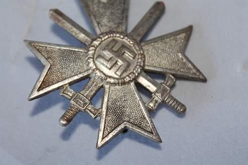 Kriegsverdienstkreuz 1 Klasse made by Juncker Real?