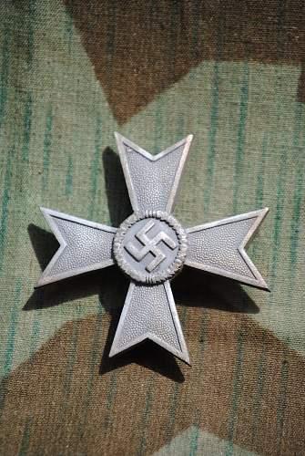 Kriegsverdienstkreuz 1.Klasse ohne Schwerter