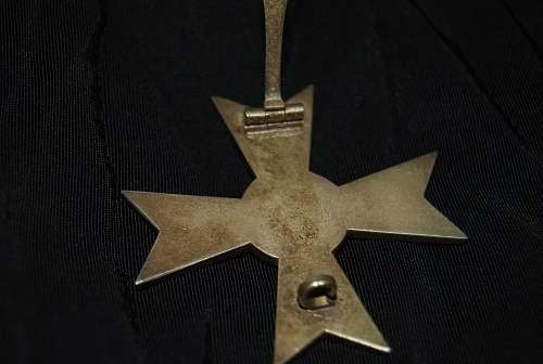 Kriegsverdienstkreuz 1.Klasse ohne Schwerter Opinions please