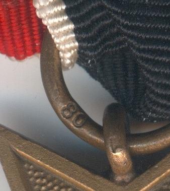 kriegsverdienstkreuz 2. klasse mit schwertern 80
