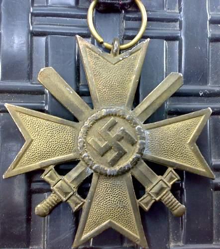 Kriegsverdienstkreuz 2.Klasse mit Schwertern