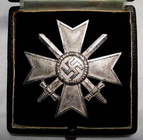 Kriegsverdienstkreuz 1.Klasse mit Schwertern, review
