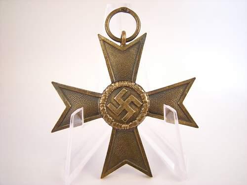 Kriegsverdienstkreuz w/o swords mm 36