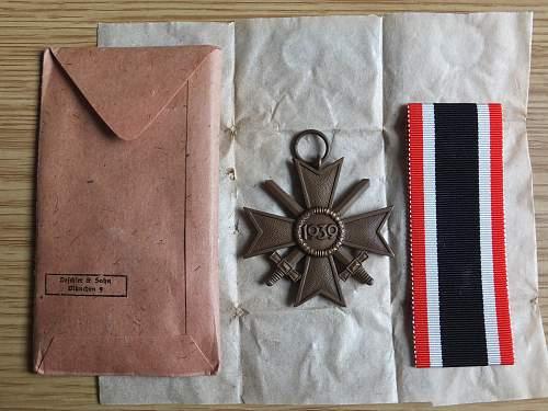 Kriegsverdienstkreuz 2nd Klasse