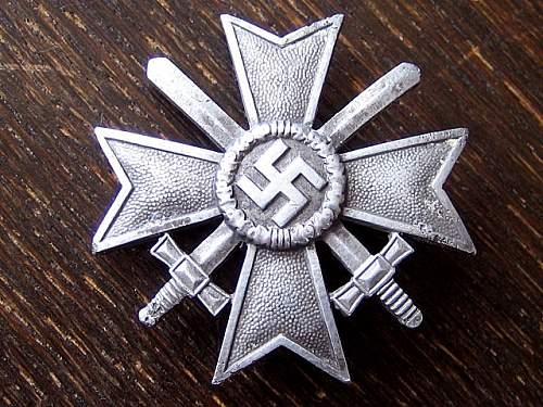 Kriegsverdienstkreuz 1.Klasse mit Schwertern - Unmarked