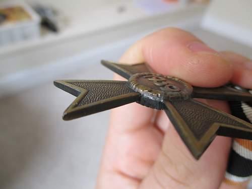Kriegsverdienstkreuz 2.Klasse ohne Schwerter, fake/original