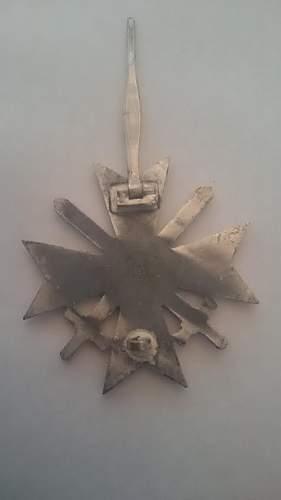 kriegsverdienstkreuz 1 klasse