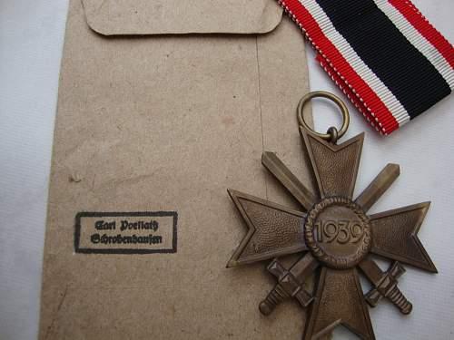 Kriegsverdienst Kreuz 2 Klasse