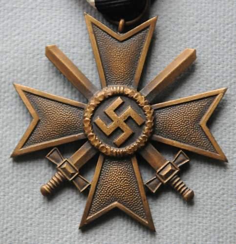 Kriegsverdienstkreuz w/ Swords - real or fake