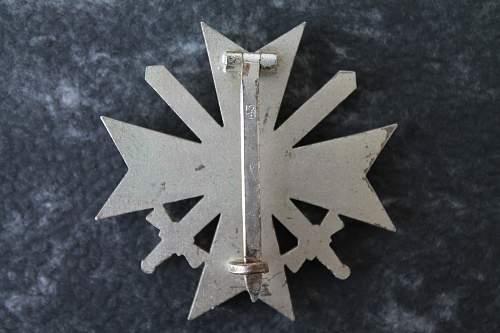 Kriegsverdienstkreuz 1.Klasse mit Schwertern // Julius Bauer