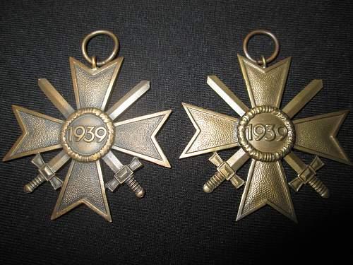 Kriegsverdienstkreuz 2.Klasse mit Schwertern Real or fake?
