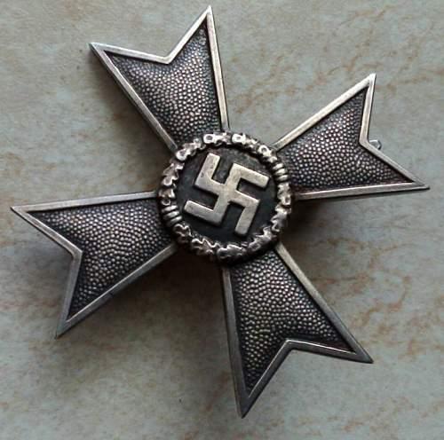 Kriegsverdienstkreuz 1939 1. Klasse
