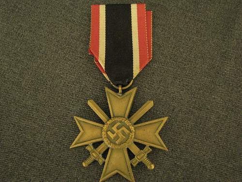 War Merit Cross in immaculate condition. Is it authentic??