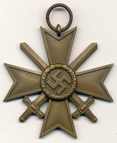 Kriegsverdienstkreuz 2.Klasse ohne Schwerter, Is it Fake?