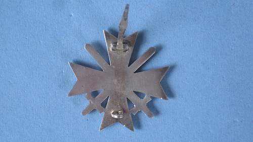 Kriegsverdienstkreuz 1 klasse, Deschler mit Etui