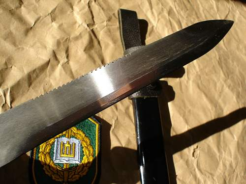 lithuanian post WW´s dagger ...