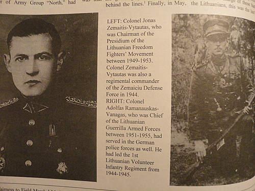 Post ww2 Lithuanian Guerrillas