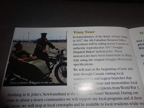 "Vimy Ridge ""Trench"" Dinner and display"