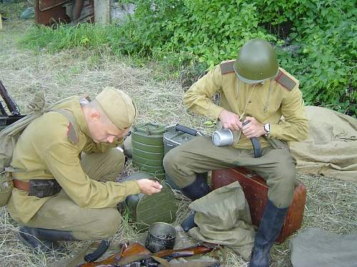 Reenacment in Estonia, summer 2007