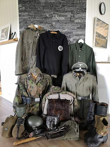SS Nordland uniform repro