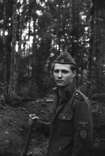 My impression as an SS-Mann in 23. SS Rgt. ''Norge''