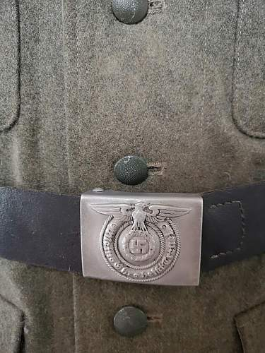 M40 tunic from 23. SS Regiment ''Norge''
