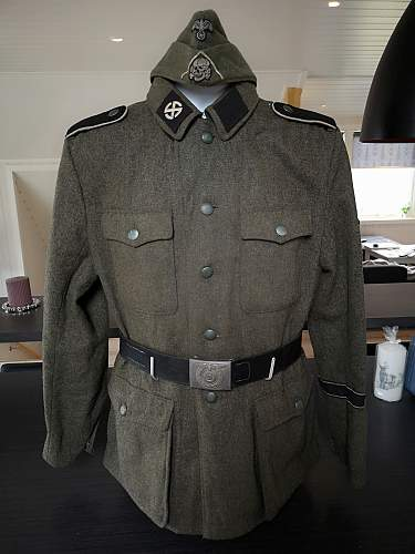 M42 tunic from 23. SS Regiment ''Norge''